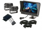 "Heavy Duty 7"" Waterproof LCD Monitor Two Camera System"