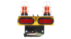 TM16UPS2-CG Wireless Tow Light with Utility Pole Mount